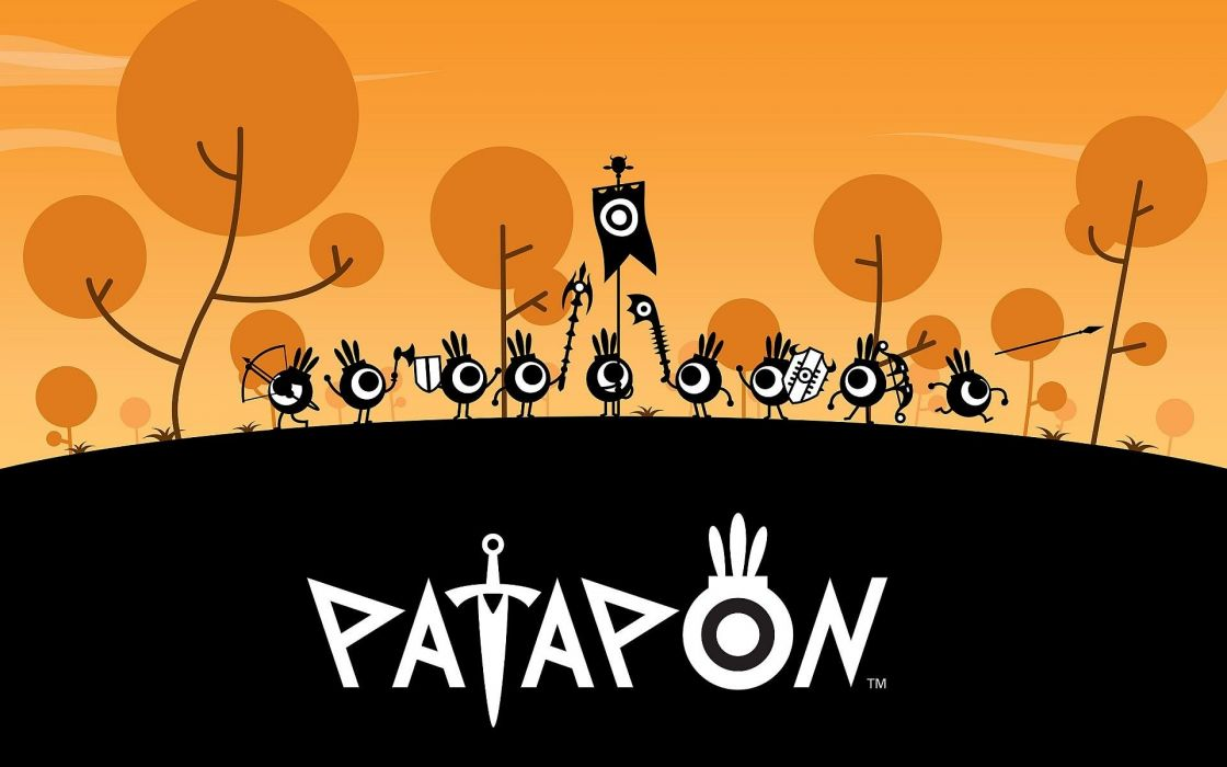 abstract video games patapon artwork wallpaper