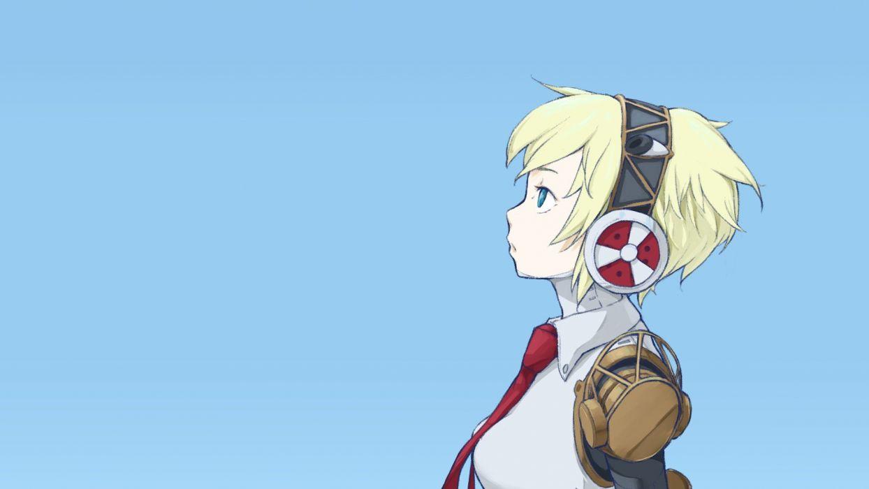 Android Persona Series Persona 3 Persona 4 Arena Aigis