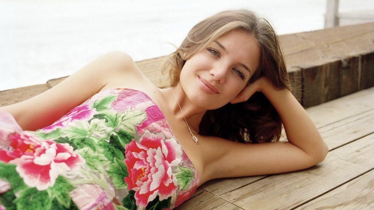 women models Katie Holmes wallpaper