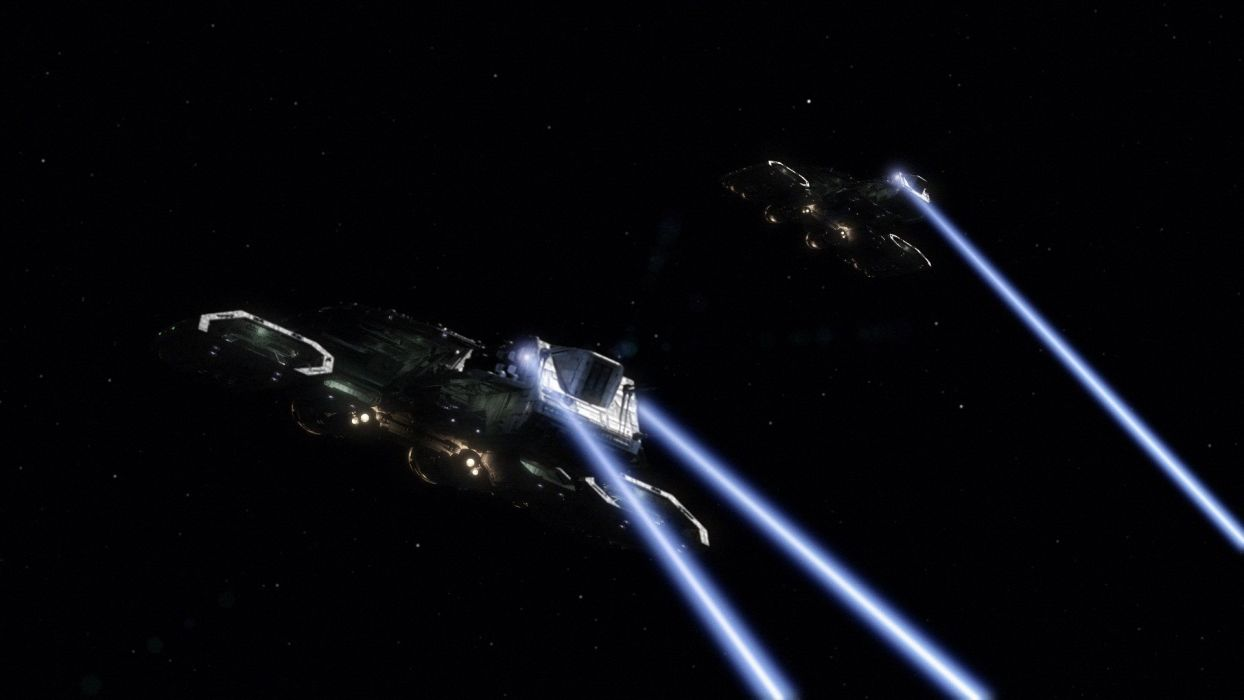 Stargate spaceships Daedalus Stargate Atlantis wallpaper
