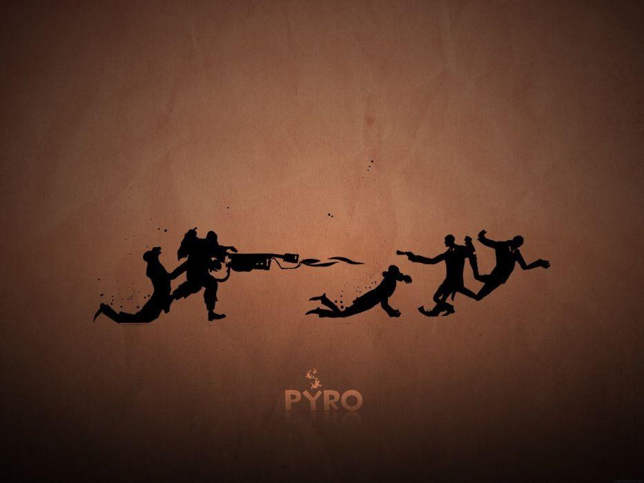 Pyro TF2 Spy TF2 Team Fortress 2 Pyro wallpaper