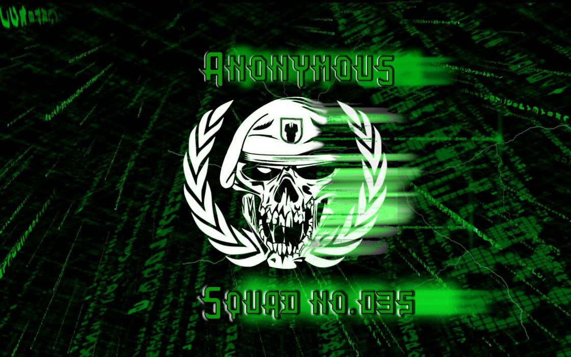 green Anonymous legion Matrix code hackers hacktavist squad _035 wallpaper
