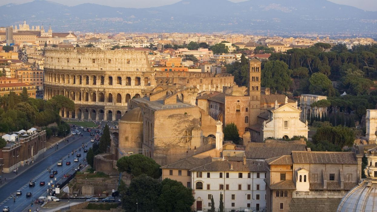 Rome Italy Colosseum Roman wallpaper