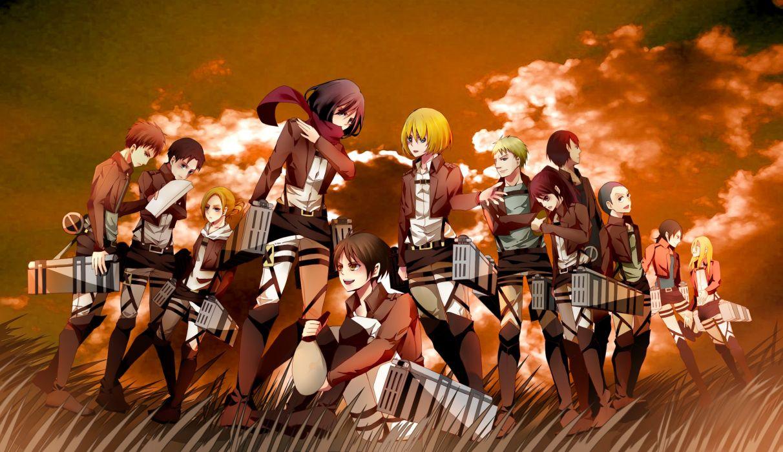 Shingeki no Kyojin 104th Trainees Squad wallpaper