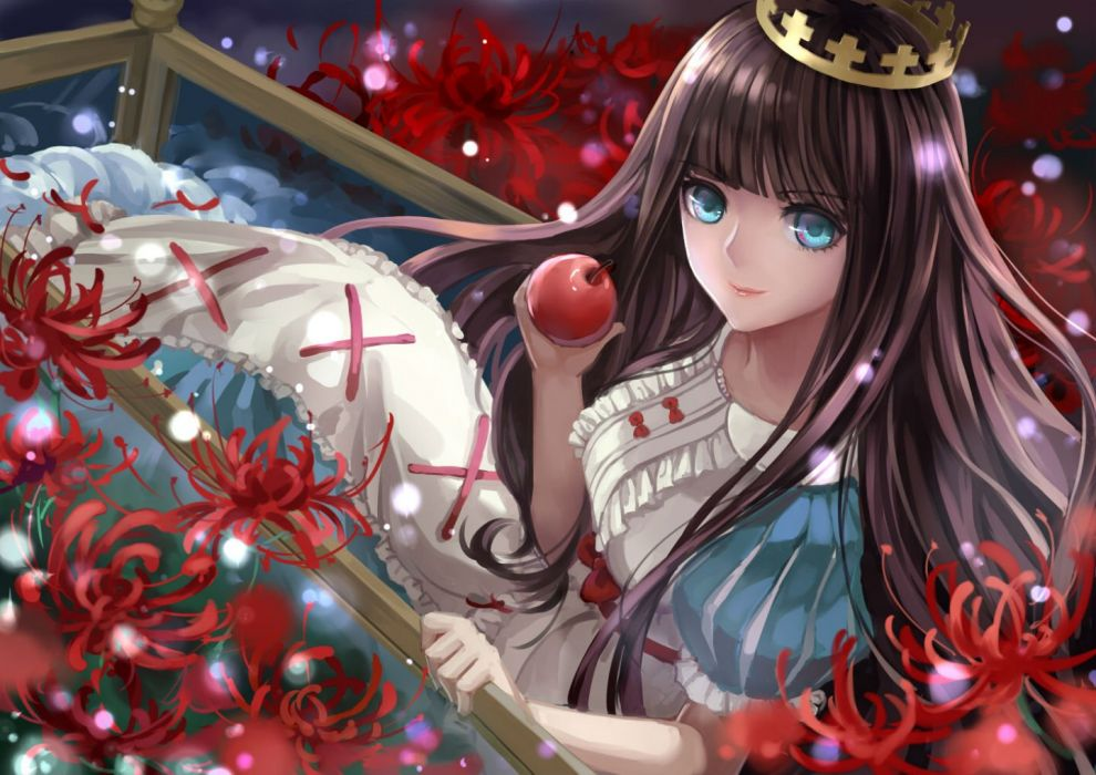 sound horizon apple crown flowers marchen von friedhof monogo sound horizon wallpaper