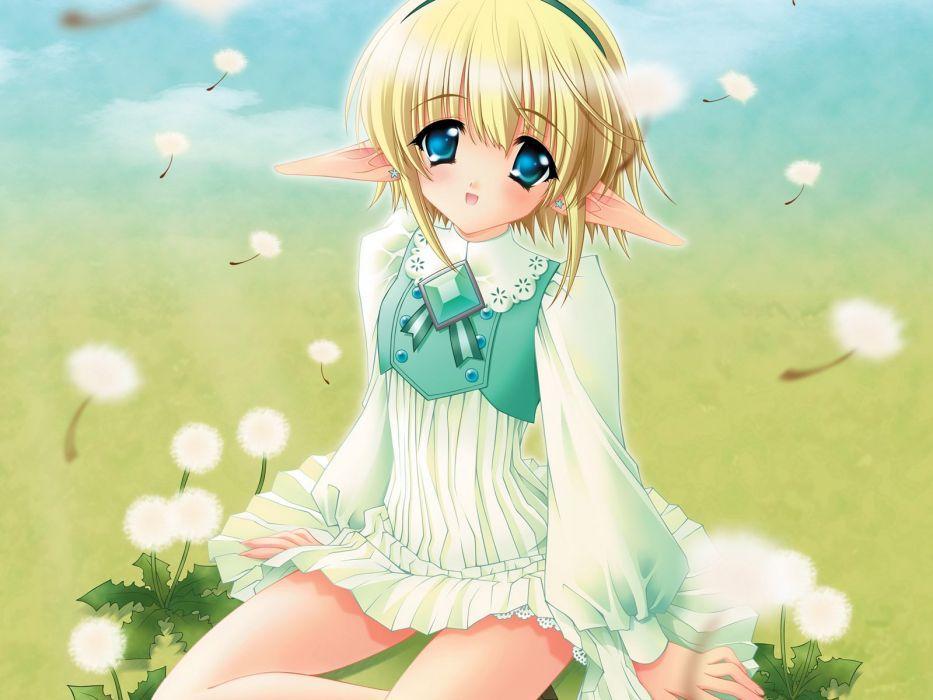 moldavite anime girl girls loli (5) wallpaper
