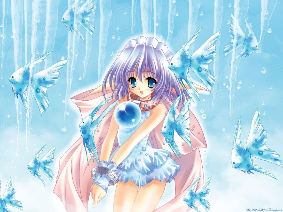 moldavite anime girl girls loli (10) wallpaper