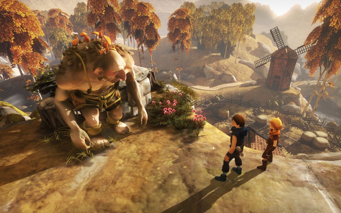BROTHERS A TALE OF TWO SONS story-driven adventure fantasy (1) wallpaper