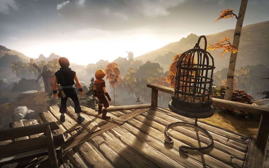 BROTHERS A TALE OF TWO SONS story-driven adventure fantasy (33) wallpaper