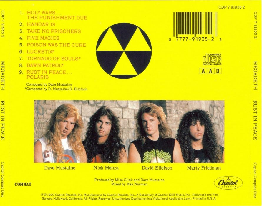 MEGADETH thrash metal heavy (3) wallpaper