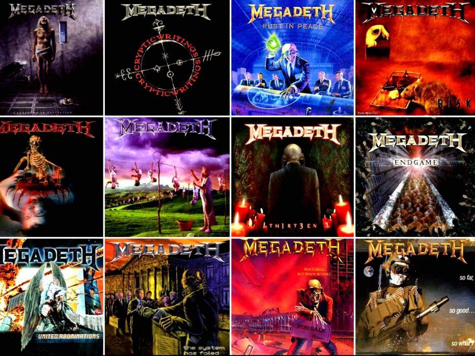 MEGADETH thrash metal heavy (15) wallpaper