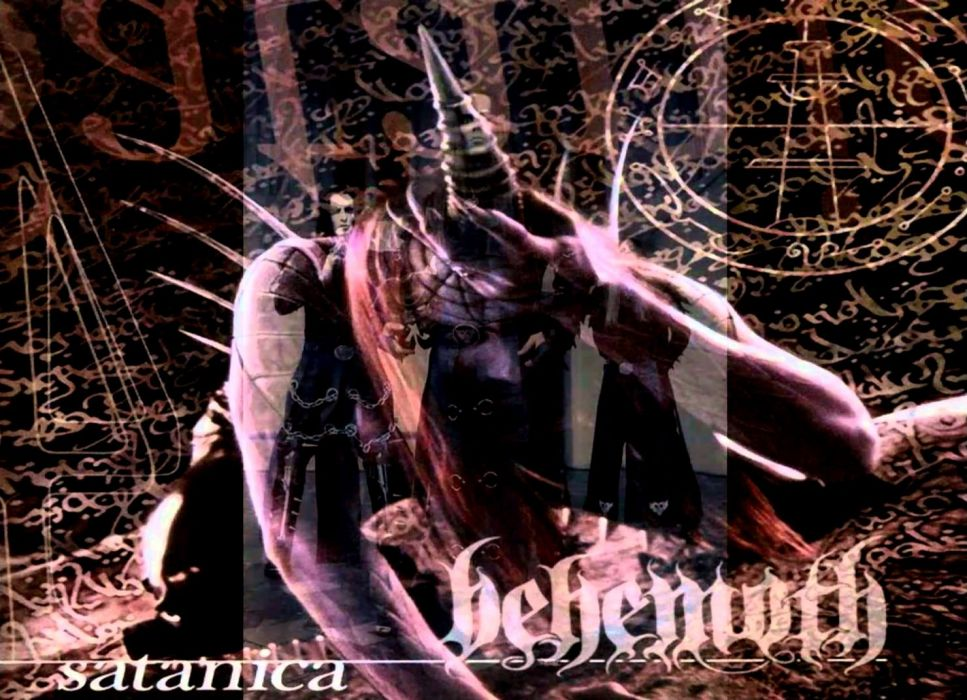 BEHEMOTH black metal heavy (12) wallpaper