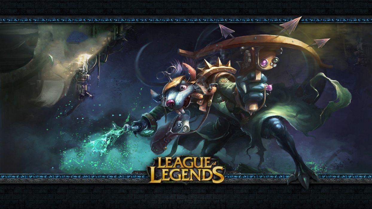 League of Legends Twitch wallpaper