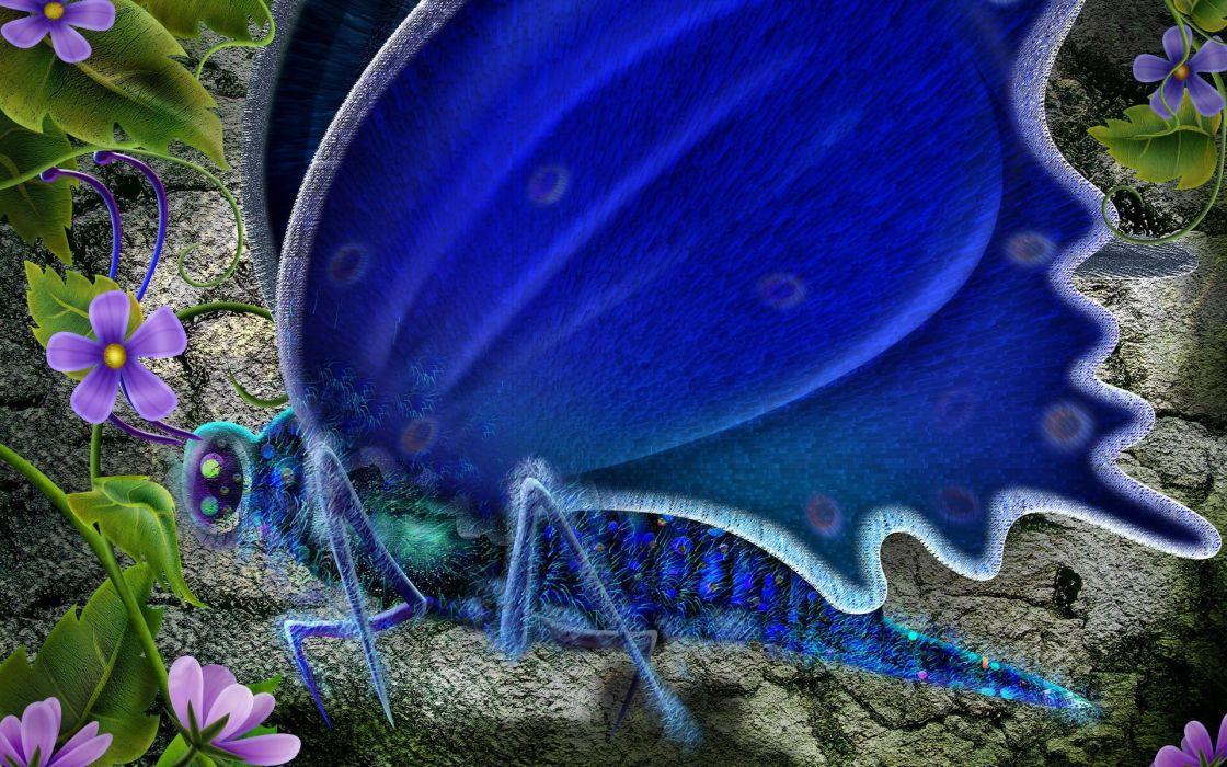 nature butterflies wallpaper