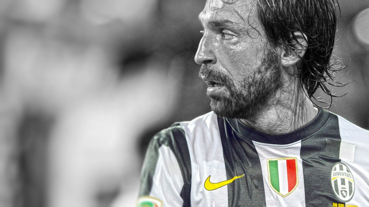 soccer HDR photography cutout PIRLO Andrea Pirlo Juventus FC football player wallpaper