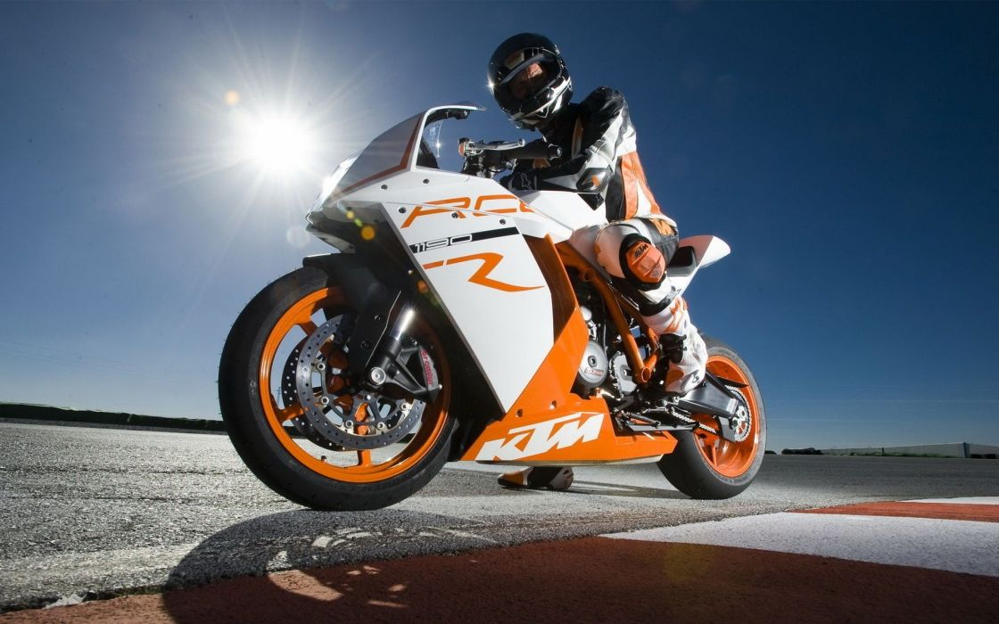 Sun Pilot KTM RC8 wallpaper
