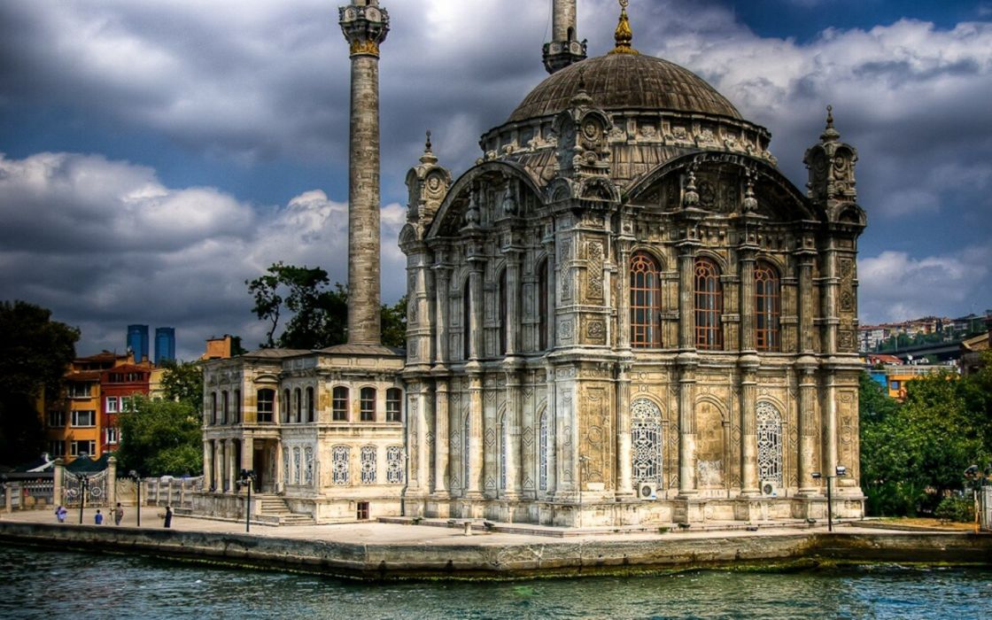 old Istanbul mosques wallpaper