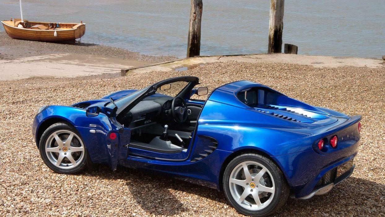 blue cars convertible Tesla wallpaper