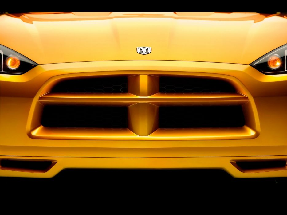 front Dodge concept art roadster wallpaper
