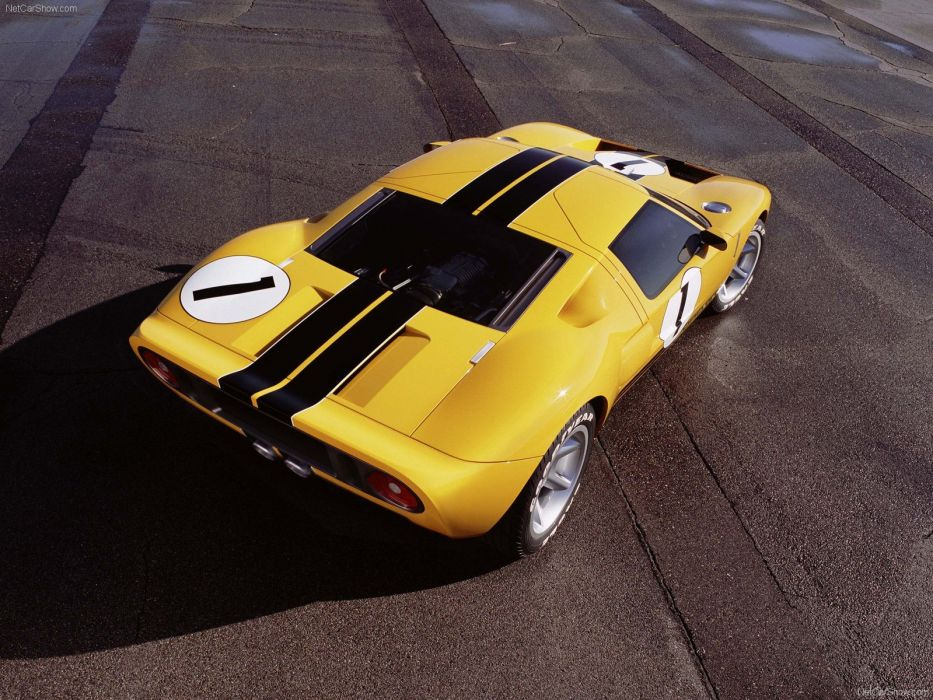 cars ride concept art Ford GT40 wallpaper
