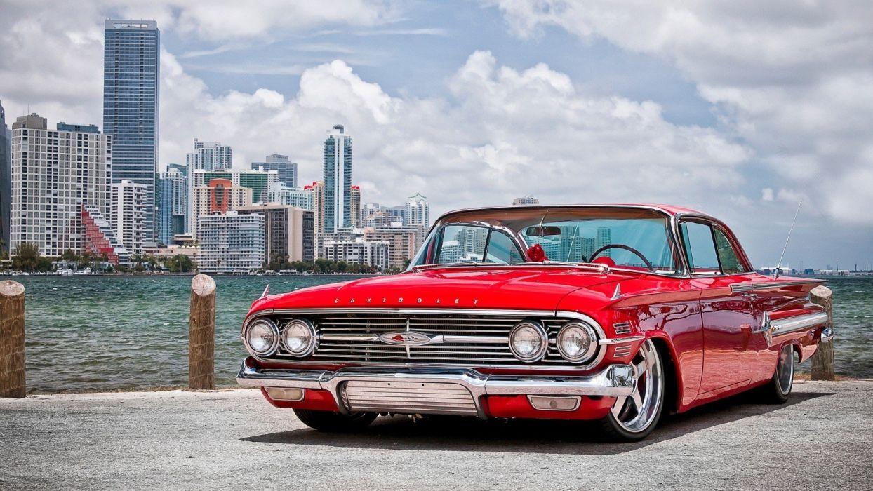 cars Chevrolet vehicles Chevrolet Impala wallpaper