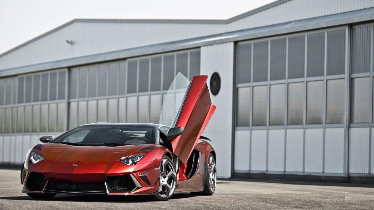 cars Lamborghini Aventador Mansory wallpaper
