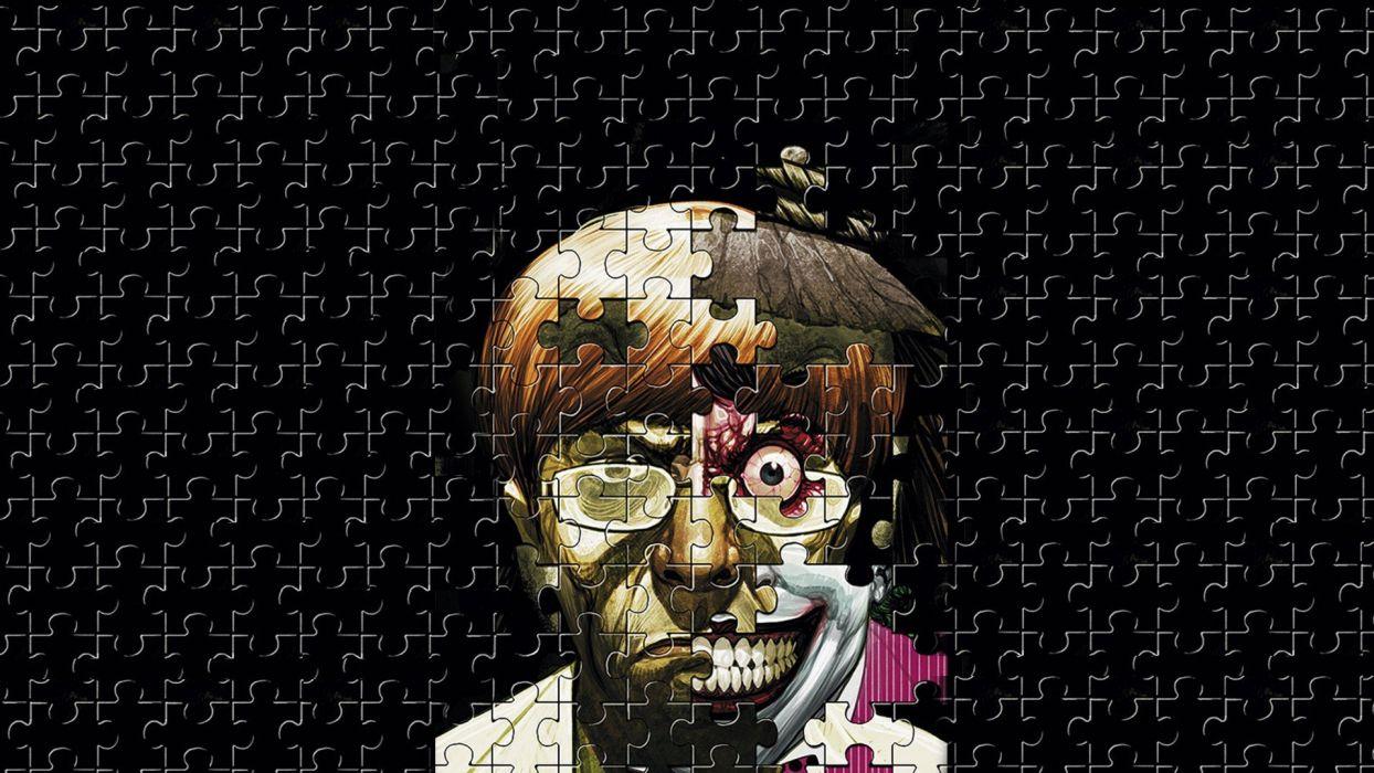 women puzzles faces wallpaper