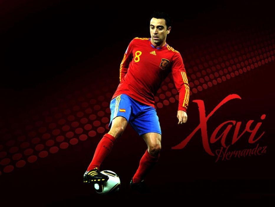 soccer FC Barcelona Xavi Hernandez Fc BarAIA wallpaper