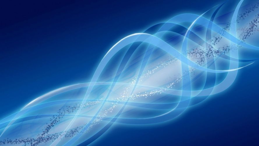abstract blue curves wallpaper