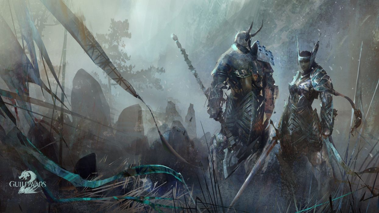 Guild Wars artwork wallpaper