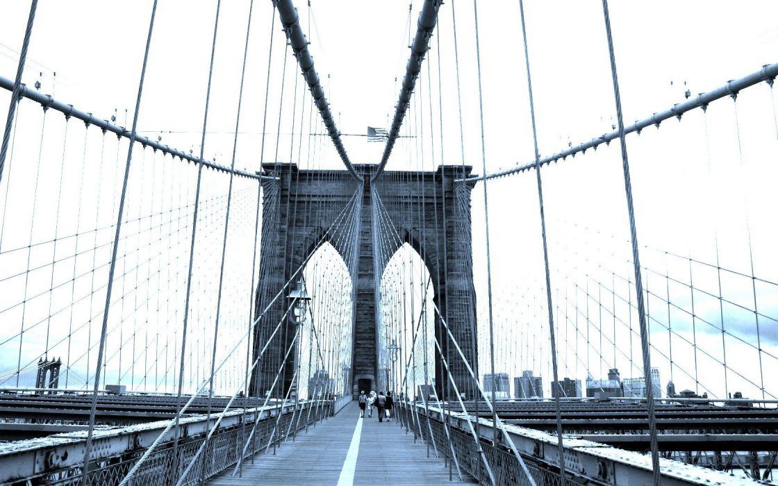 landscapes cityscapes bridges Brooklyn Bridge wallpaper