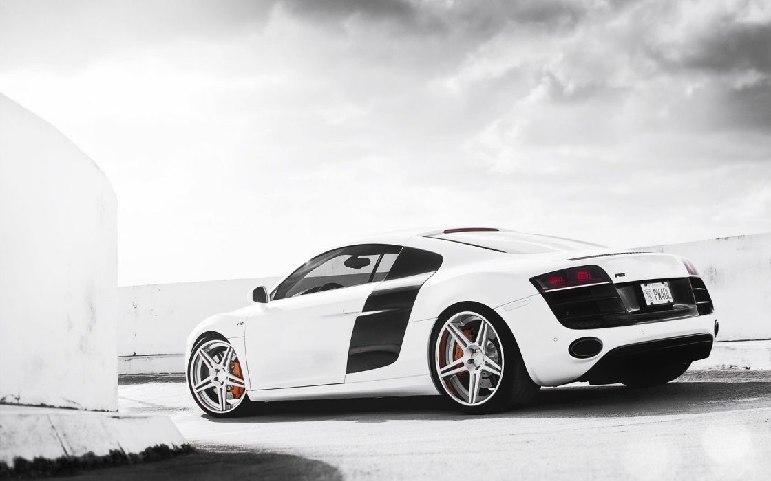 White Cars Audi Vehicles Wheels Audi R8 Bags Sports Cars Luxury Sport Cars  Wallpaper