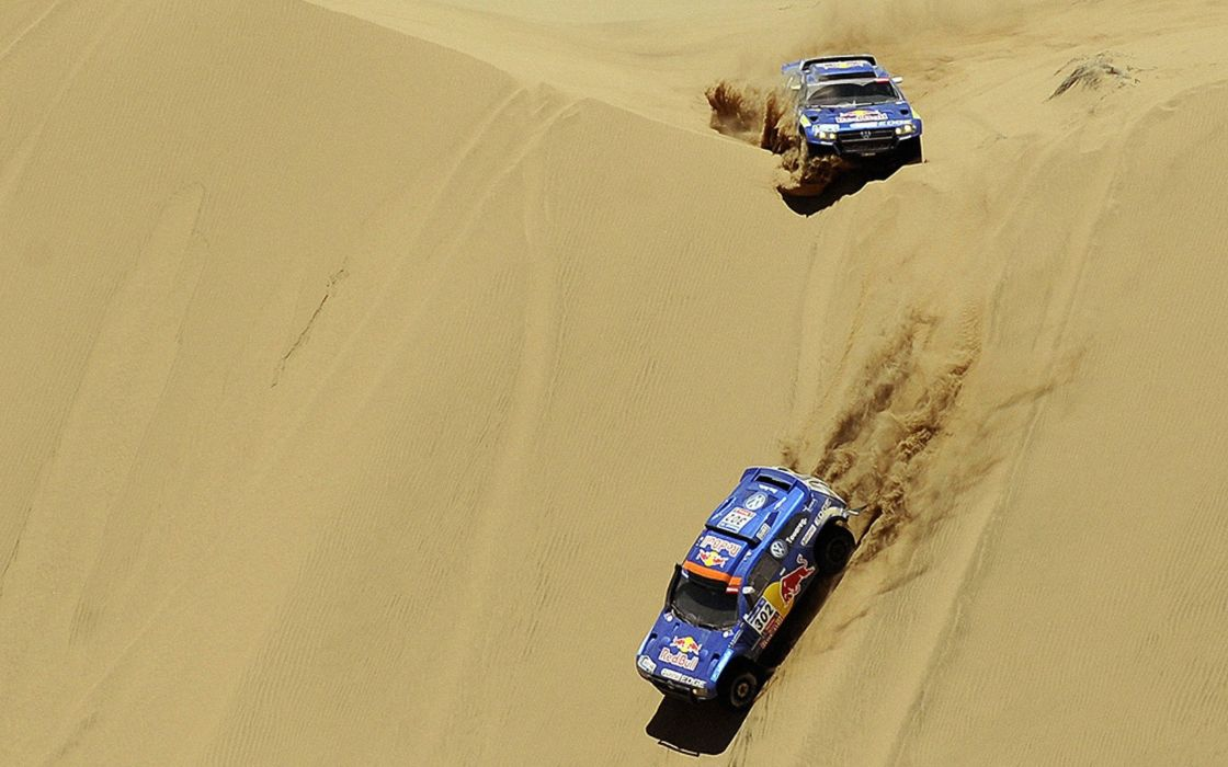 Dakar rally cars wallpaper