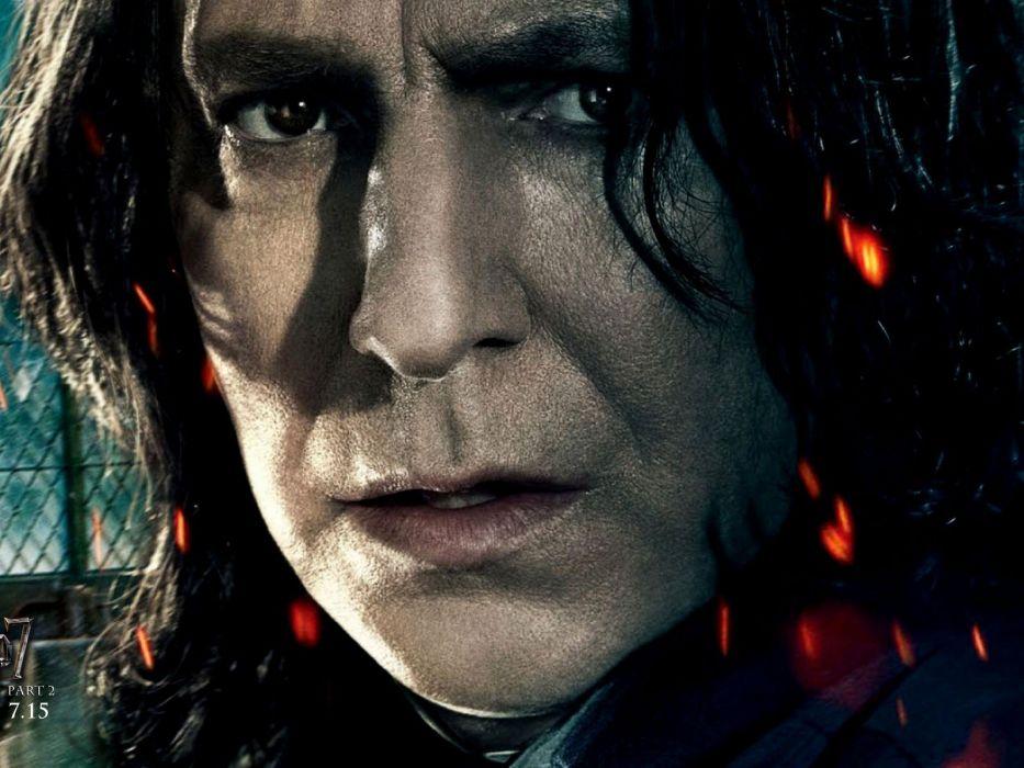 movies Harry Potter Severus Snape wallpaper