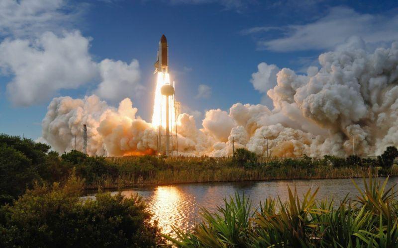outer space Atlantis NASA Space Shuttle Discovery wallpaper