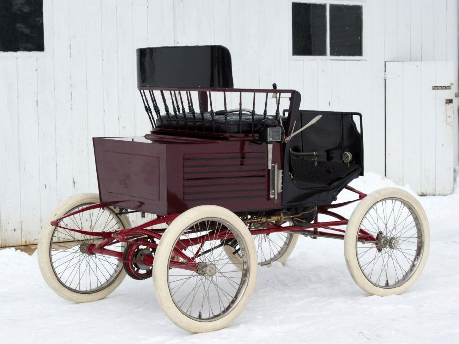 1899 Locomobile Runabout retro     g wallpaper