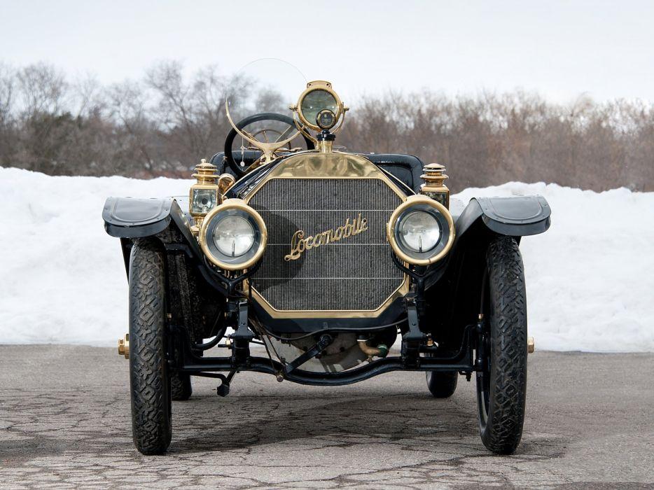 1909 Locomobile Model-30L Speedster retro race racing r wallpaper