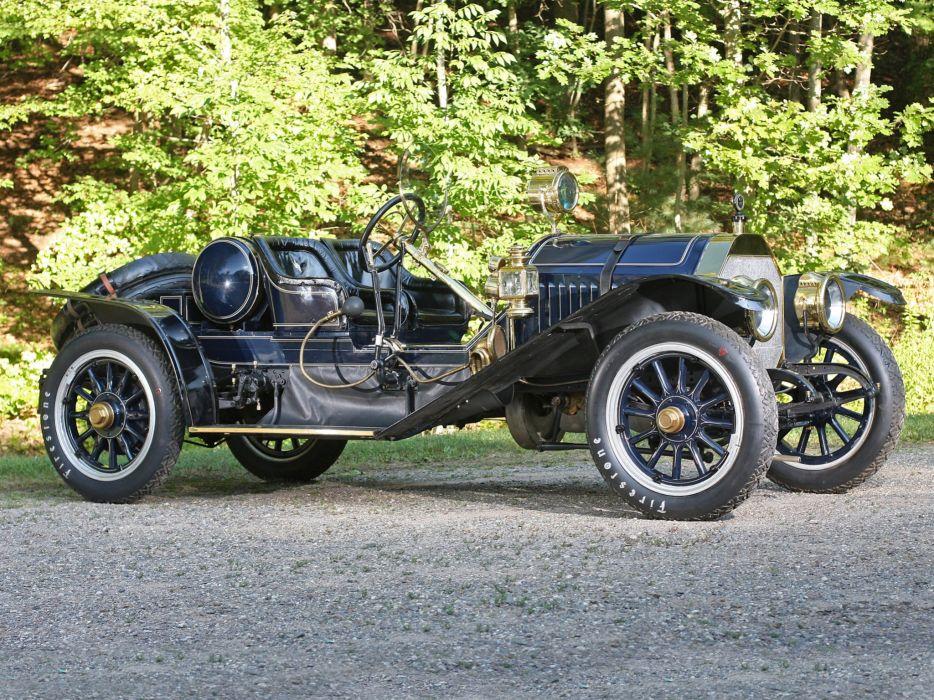 1909 Locomobile Model-30L Speedster retro race racing   fr wallpaper
