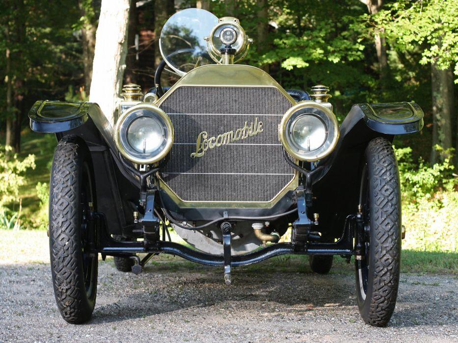 1909 Locomobile Model-30L Speedster retro race racing  e wallpaper