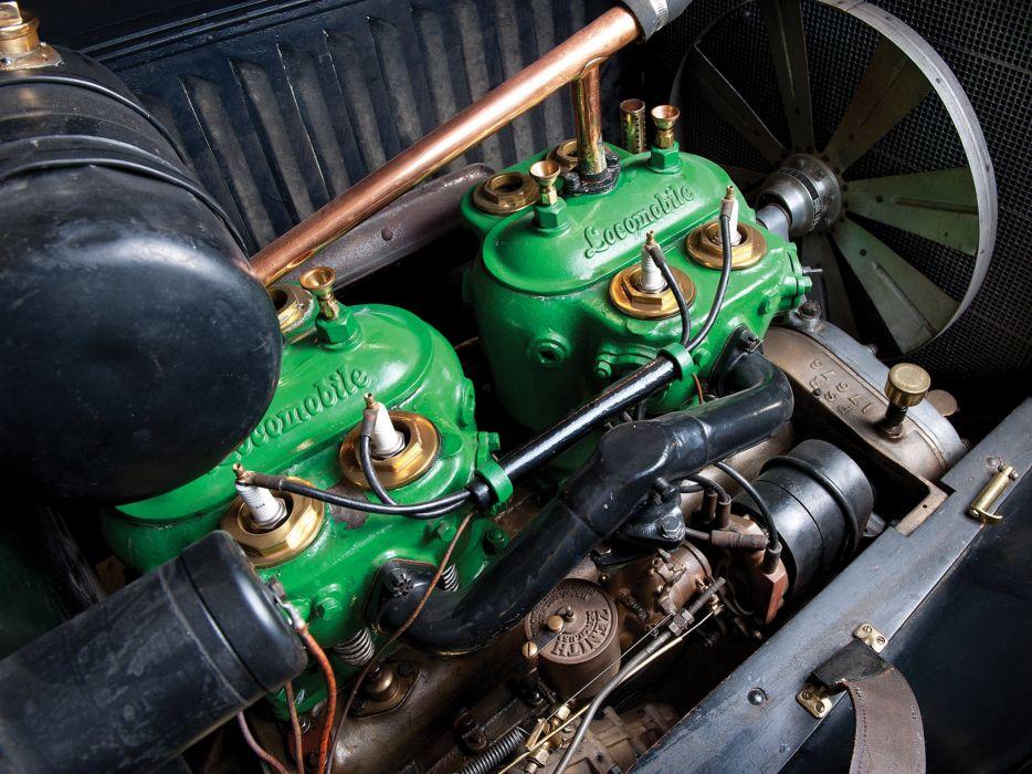 1909 Locomobile Model-30L Speedster retro race racing engine   d wallpaper