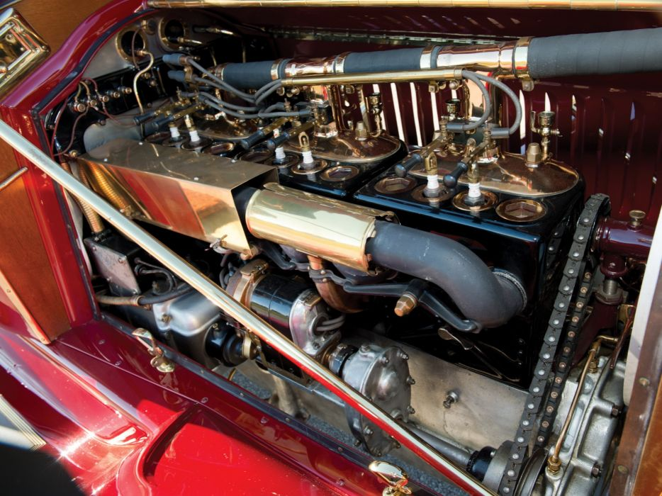 1913 Packard Six Runabout 1-38 luxury retro engine    f wallpaper