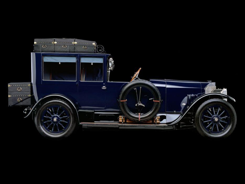 1917 Mercedes Benz 60HP Open Front TownCar luxury retro  g wallpaper