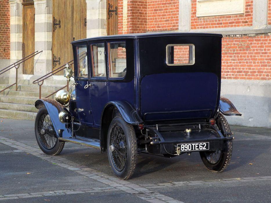 1920 Hotchkiss A-F Limousine retro luxury  d wallpaper