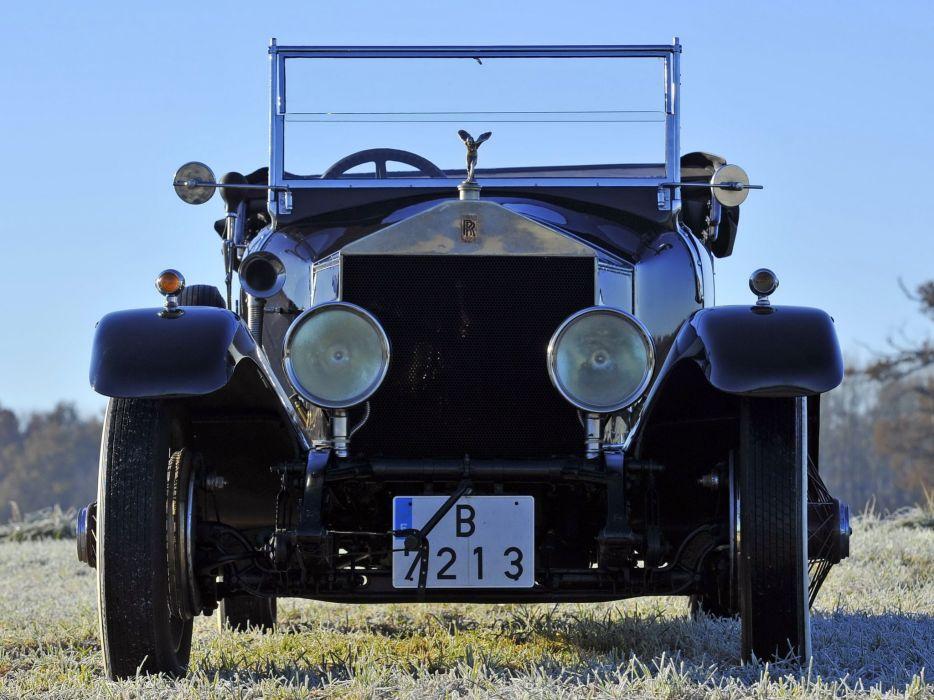 1921 Rolls Royce Silver Ghost Torpedo (CW29) retro luxury  g wallpaper