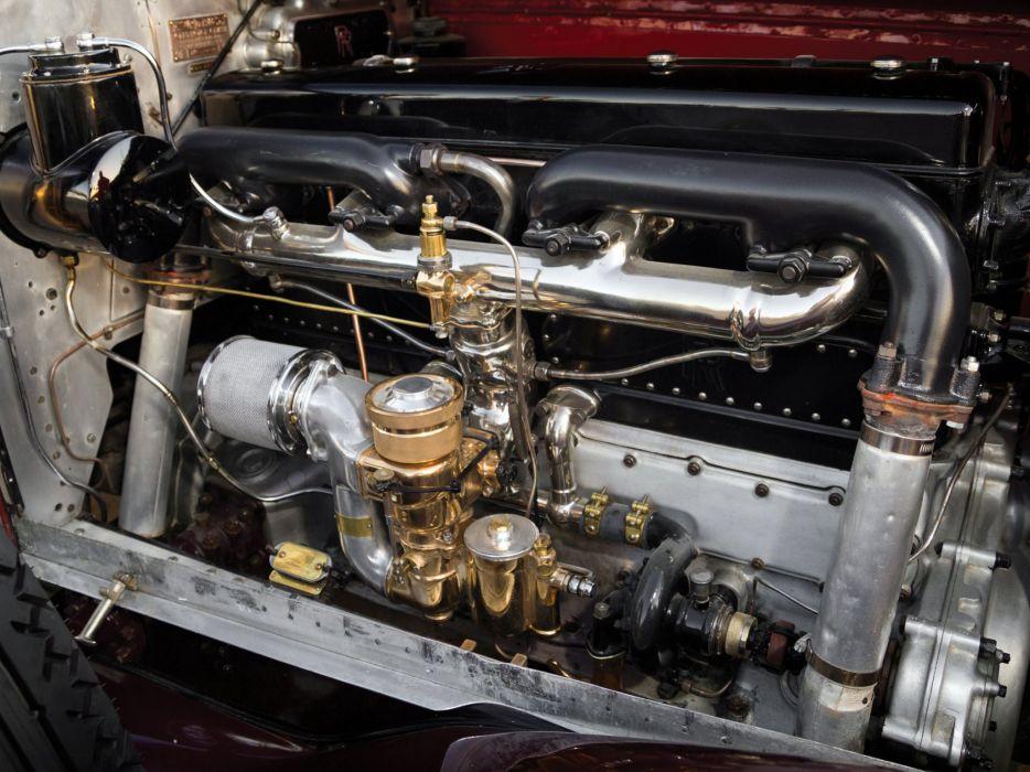 1928 Rolls Royce Phantom I Special Roadster Hibbard Darrin (S297FP-2038) retro luxury engine    g wallpaper