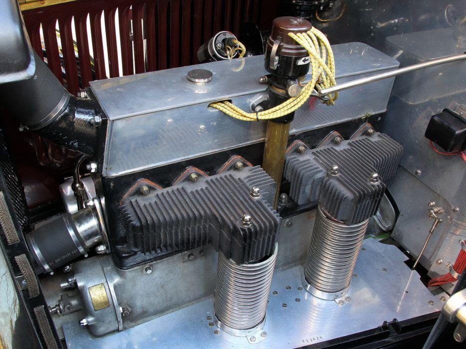 1930 Voisin C23 Lumineuse Berline retro engine  t wallpaper