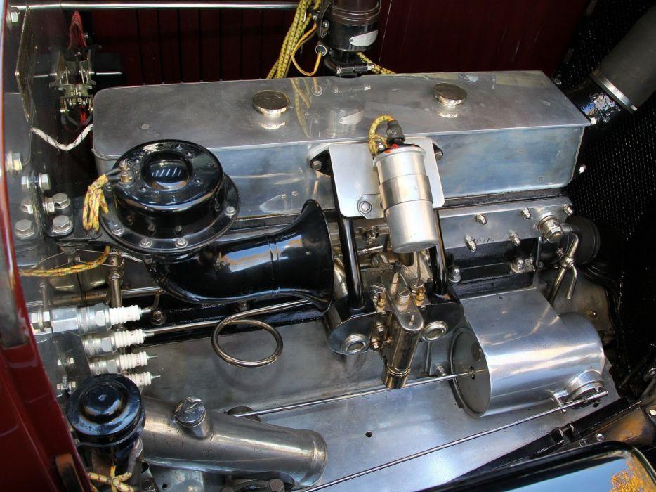 1930 Voisin C23 Lumineuse Berline retro engine      g wallpaper