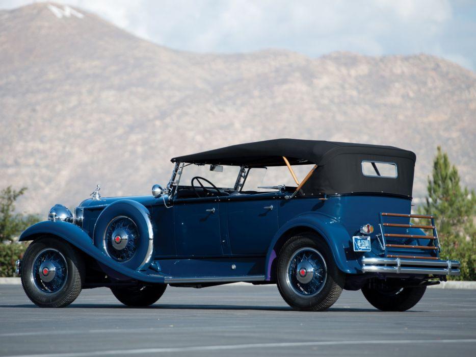 1931 Packard Deluxe Eight Sport Phaeton (840-491) luxury retro   g wallpaper