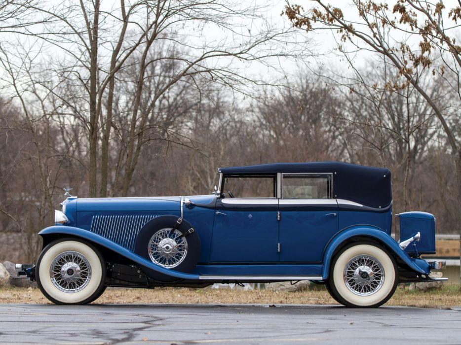 1932 Auburn V12 160A Custom Dual Ratio Phaeton Sedan retro luxury g wallpaper