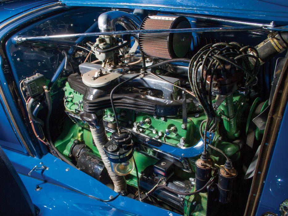1932 Auburn V12 160A Custom Dual Ratio Phaeton Sedan retro luxury engine    g wallpaper